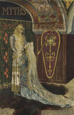 Elsa on her knees before Lohengrin