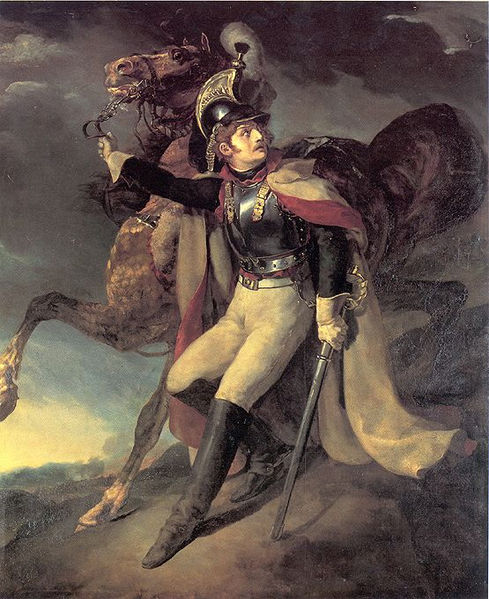 1814 - The Wounded Cuirassier