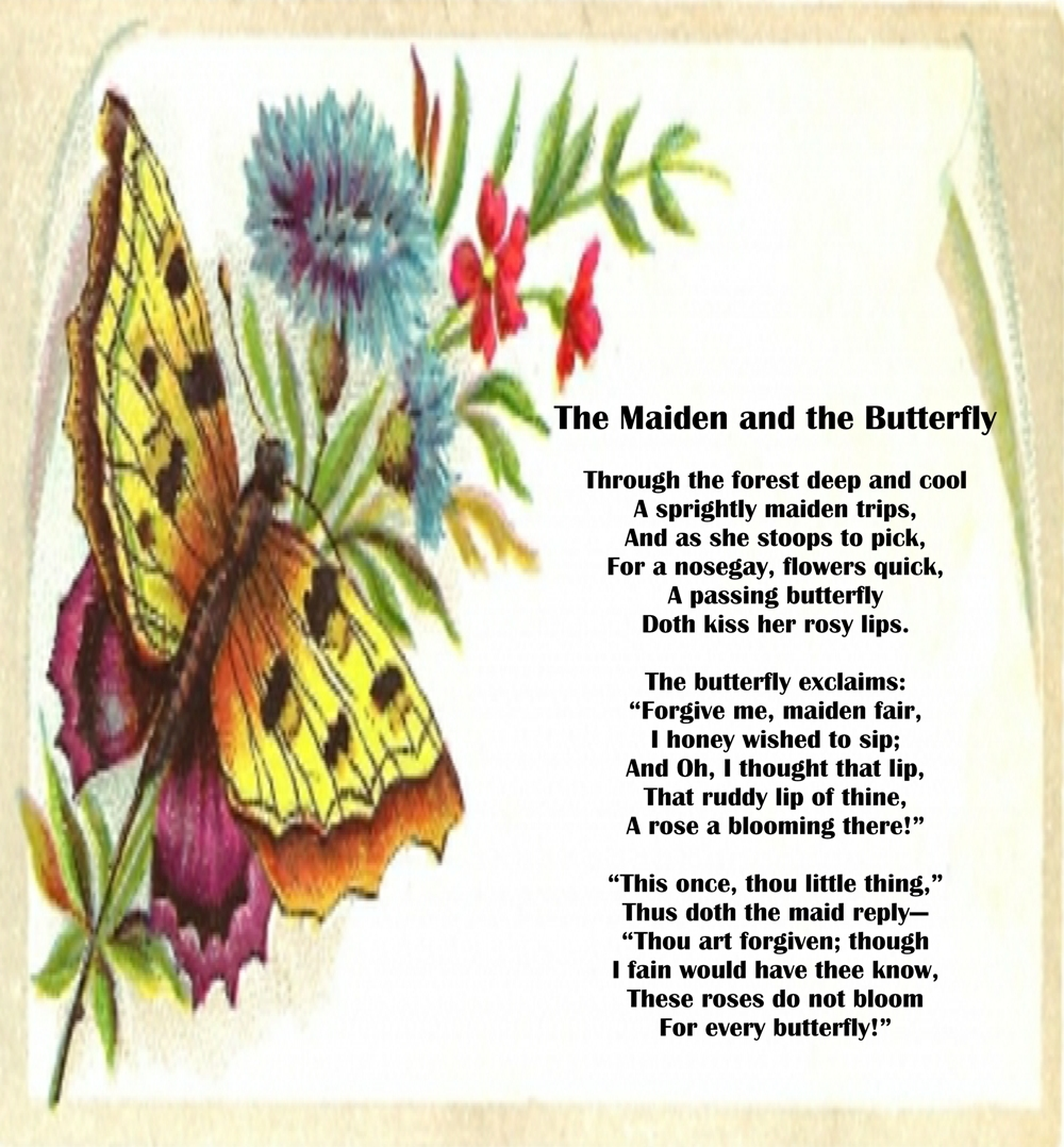 maiden and the butterfly