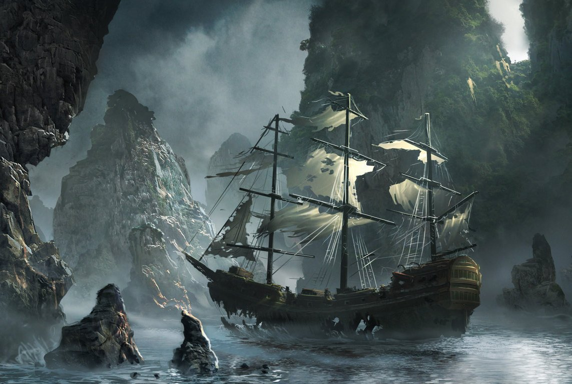 ghost ship theme