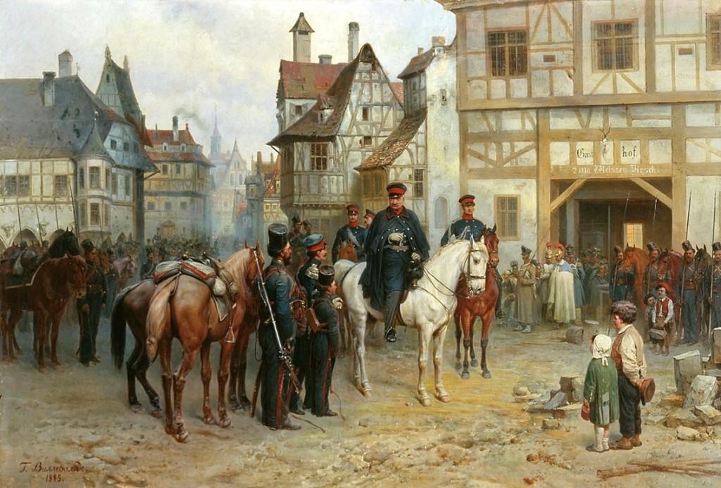 Gebhard_Leberecht_von_Blücher_in_Bautzen_1813