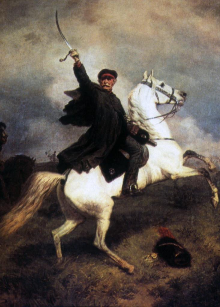 Marschall Vorwärts by Emil Hünten (1863).