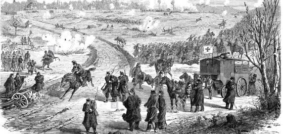 Franco Prussian War Artillery