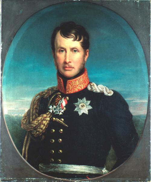 Friedrich Wilhelm III. / Gebauer - Frederick William III / Gebauer - Frederic Guillaume III / Gebauer
