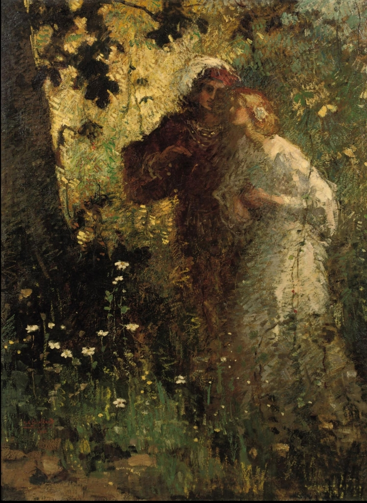 21. Graafland, Robert Archibalt - Young Lovers, 1911