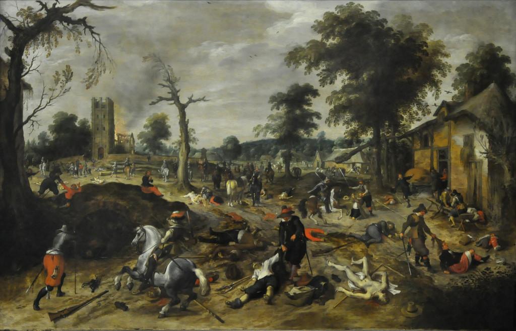 Sebastiaan_Vrancx_(1573-1647)_-_De_plundering_van_Wommelgem_(1625-1630)_-_Düsseldorf_Museum_Kunstpalast_15-08-2012_15-08-12