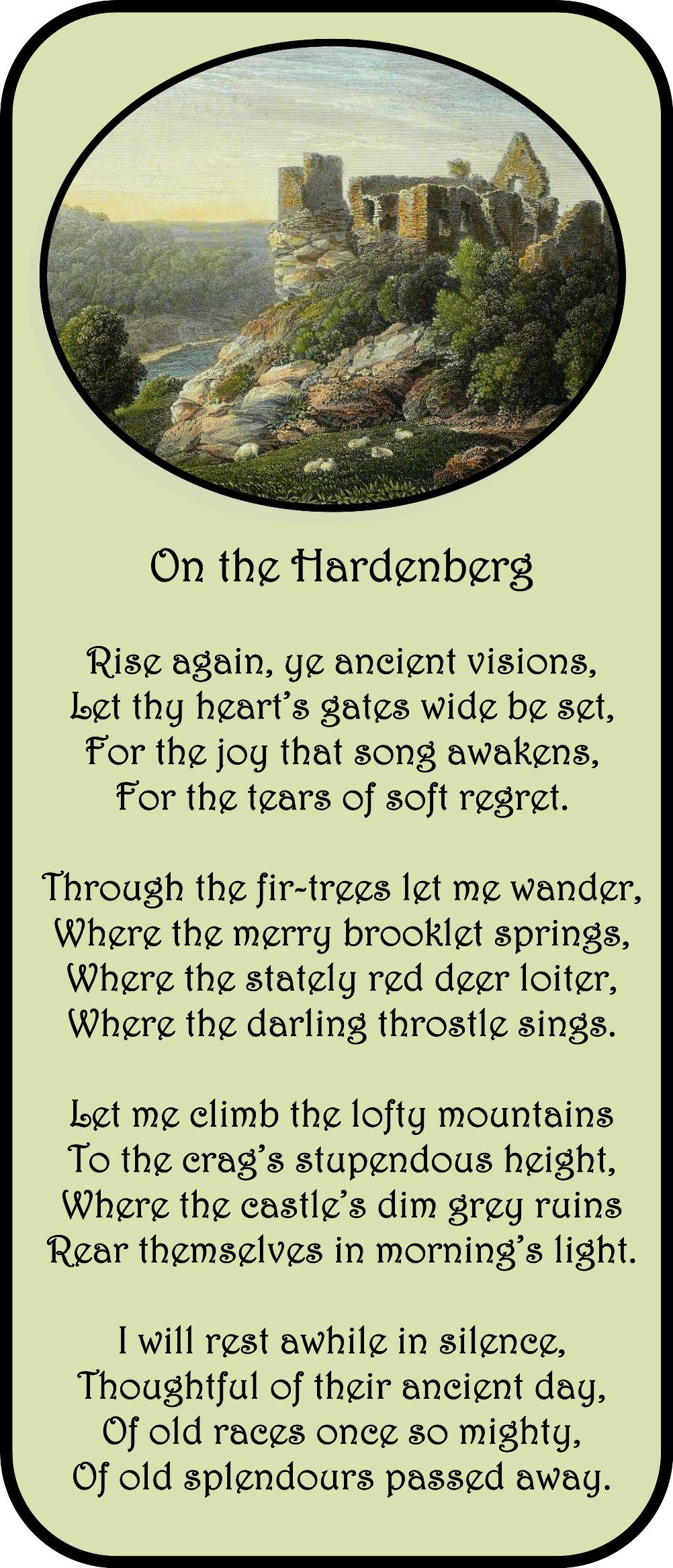 On the Hardenberg2