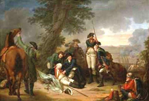 Frisch_The-Death-of-Field-Marshal-Schwerin-at-the-Battle-of-Prague2